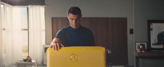 Cristiano Ronaldo Sponsors Partners Brand Endorsements Ambassador Associations Advertising  American Tourister