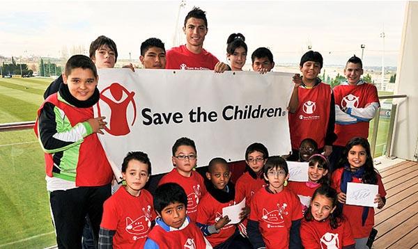Cristiano Ronaldo Sponsors Partners Brand Endorsements Ambassador Associations Advertising  Save The Children