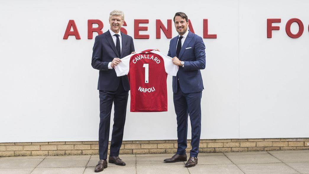 Arsenal FC Football Club Sponsors Partners Sponsorships Partnerships Brand Endorsements Cavallaro Napoli