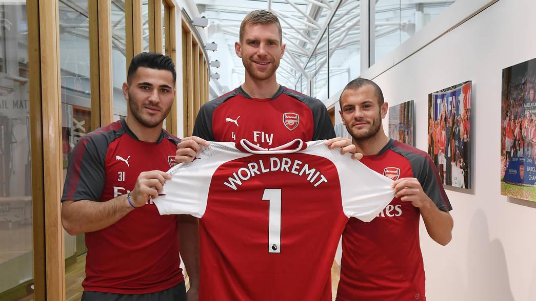 Arsenal FC Football Club Sponsors Partners Sponsorships Partnerships Brand Endorsements WorldRemit