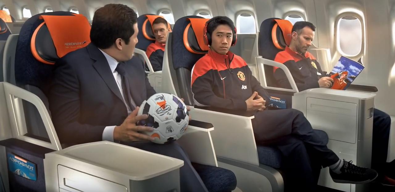 Manchester United Man Utd Red Devils Sponsorships Partnerships Brands Aeroflot