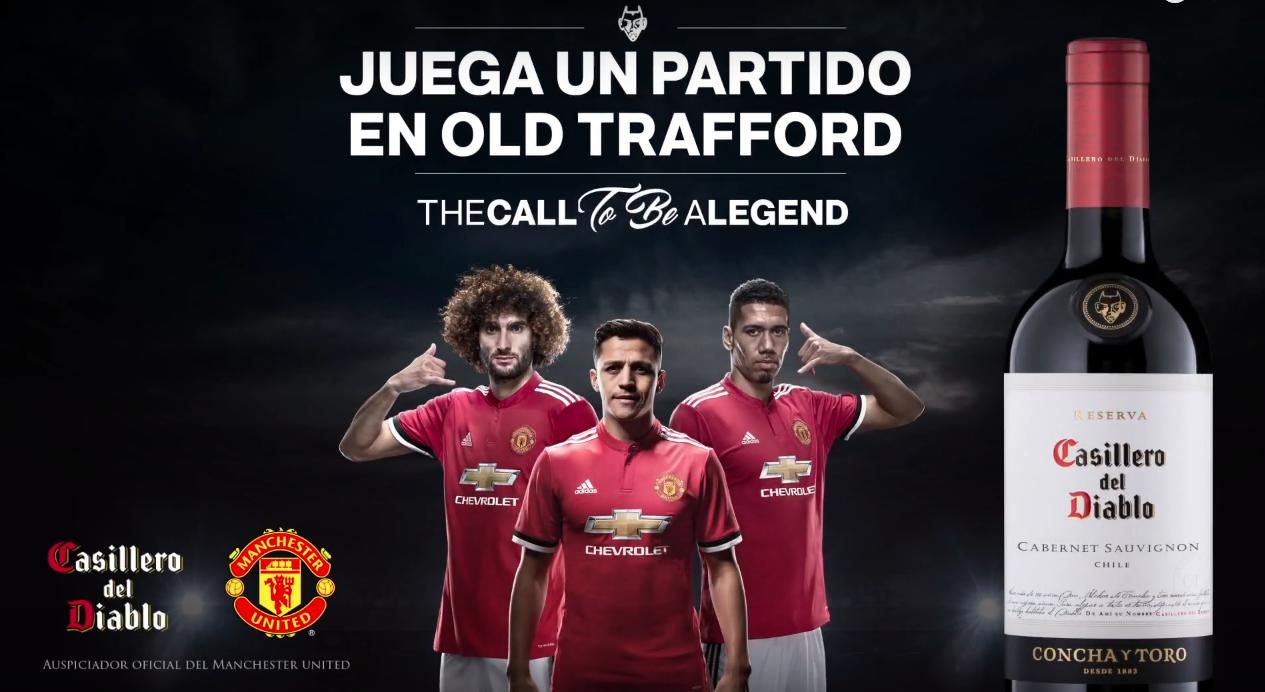 Manchester United Man Utd Red Devils Sponsorships Partnerships Brands Casillero del Diablo