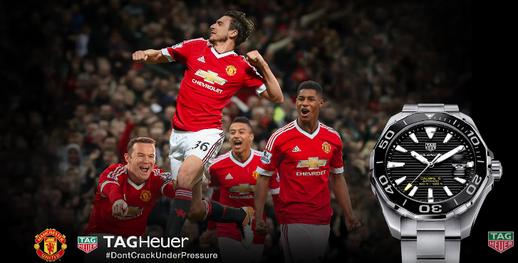 Manchester United Sponsors Partners Man Utd Red Devils Sponsorships Partnerships Brands TAG Heuer