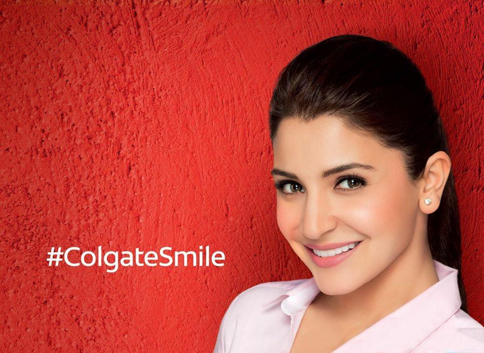 Anushka Sharma Brand Endorsements Brand Ambassador Promotions TVC Advertisements List Colgate