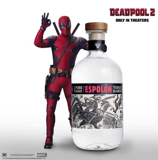 Brand Partners brand associations deadpool 2 Espolòn Tequila