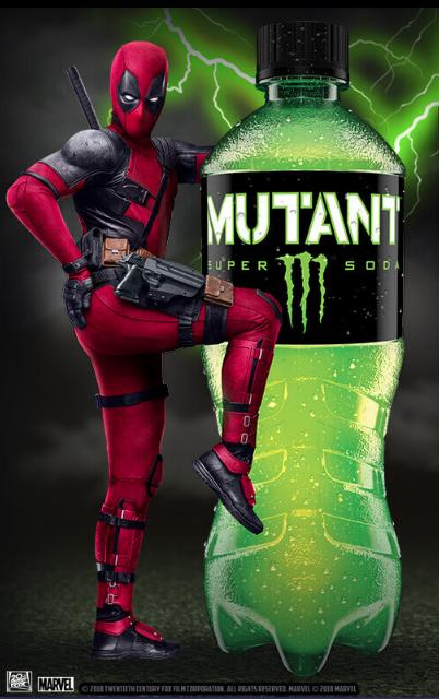 Brand Partners brand associations deadpool 2 Mutant Super Soda