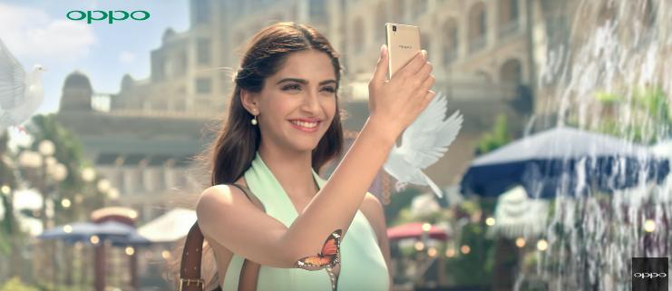Sonam Kapoor Brand Endorsements Brand Ambassador Advertisements TVCs List Oppo 2