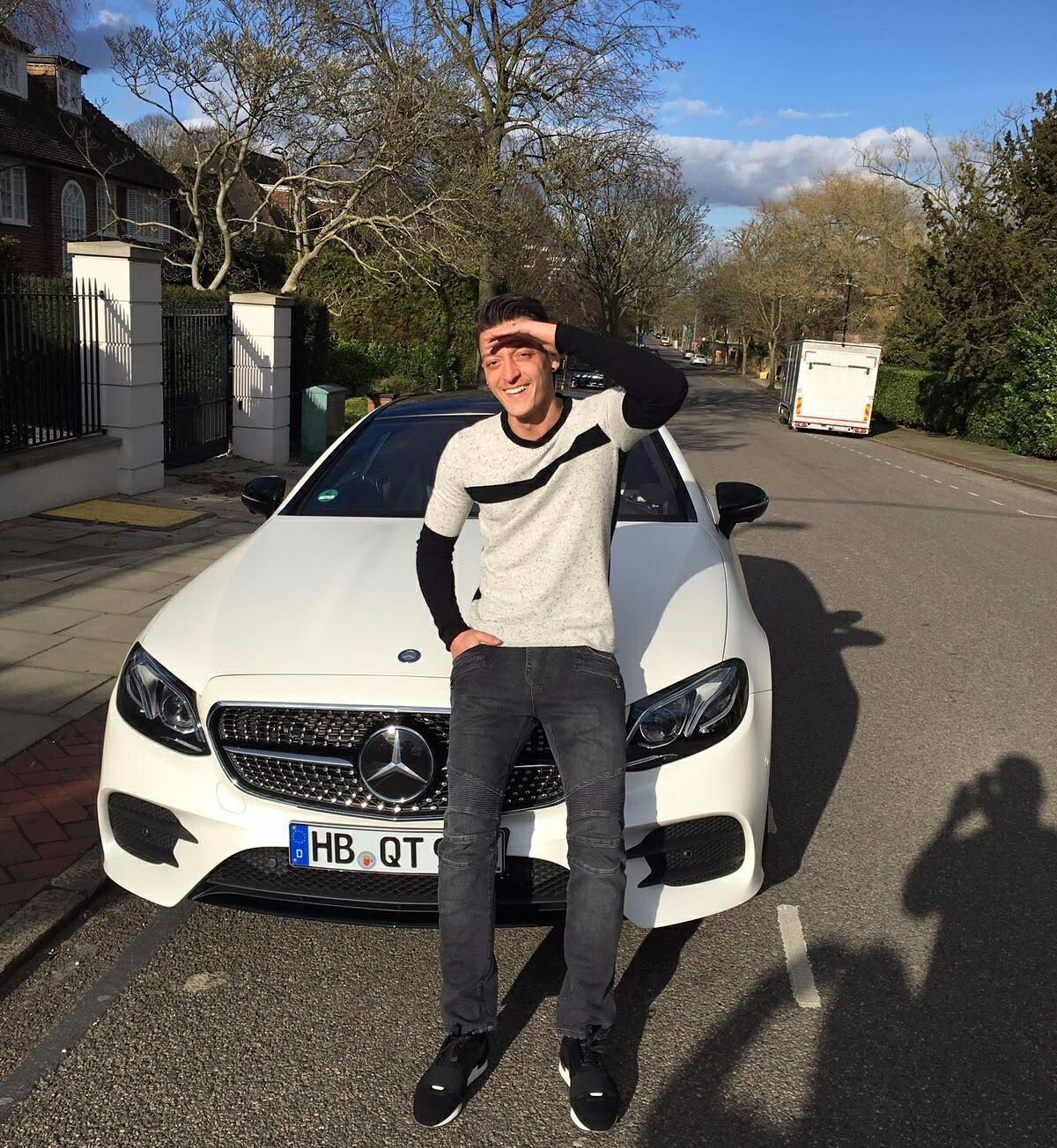 Mesut Ozil Brand Endorsements Sponsors Partners Mesut Ozil Advertising TVC Ad.jpg Mercedes Benz
