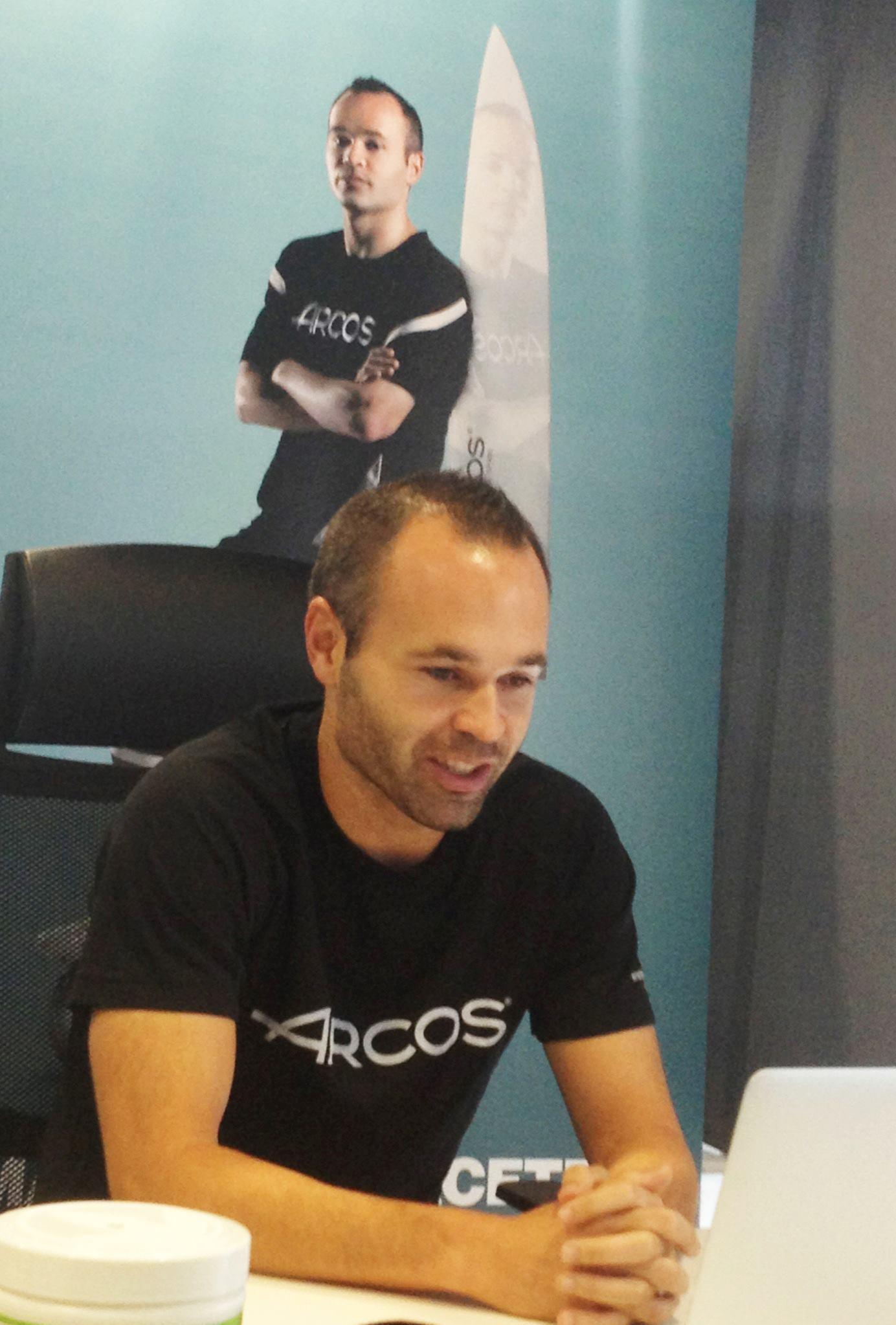 Andres Iniesta Brand Endorsements Brand Ambassador Sponsorship Partners Advertising TVC Spain Barcelona Arcos
