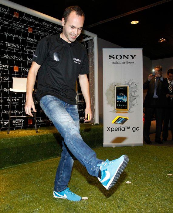 Andres Iniesta Brand Endorsements Brand Ambassador Sponsorship Partners Advertising TVC Spain Barcelona Sony Xperia
