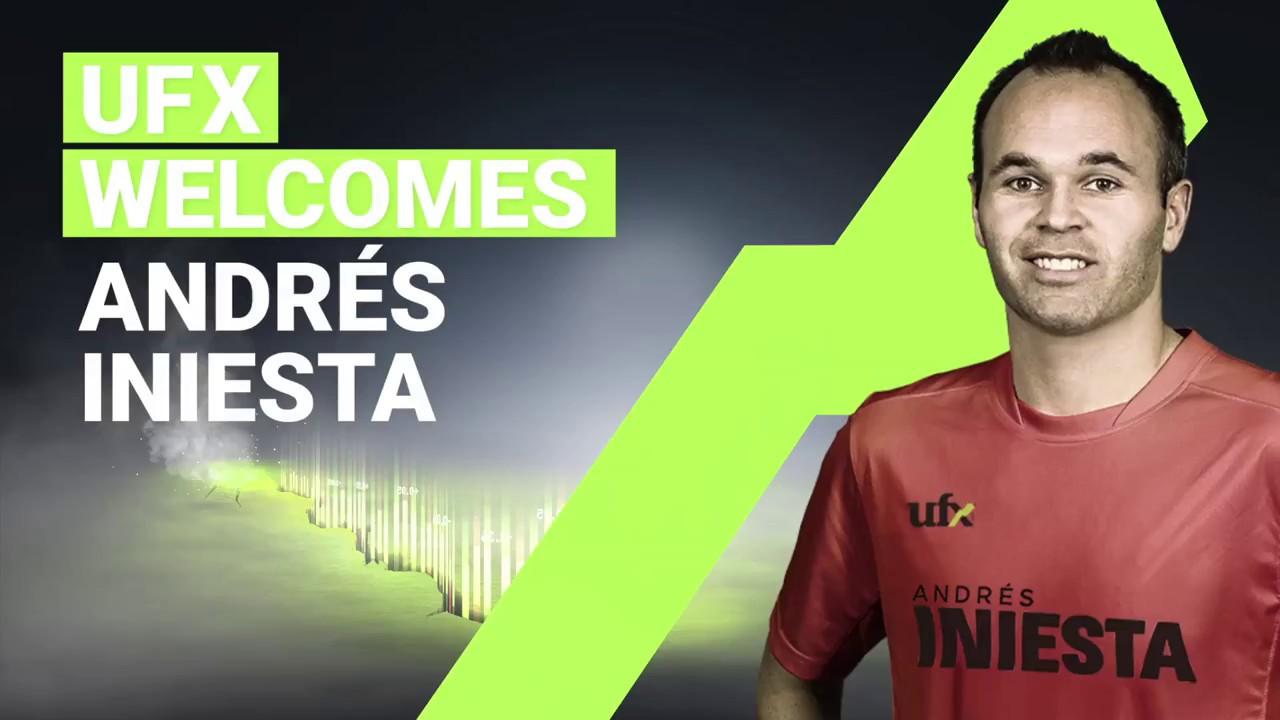 Andres Iniesta Brand Endorsements Brand Ambassador Sponsorship Partners Advertising TVC Spain Barcelona UFX