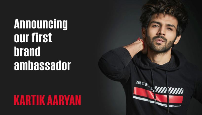 Kartik Aaryan Brand Associations/Brand Ambassador/Endorsement/Advertising/TVCs/Promotions list Mufti Jeans Clothes