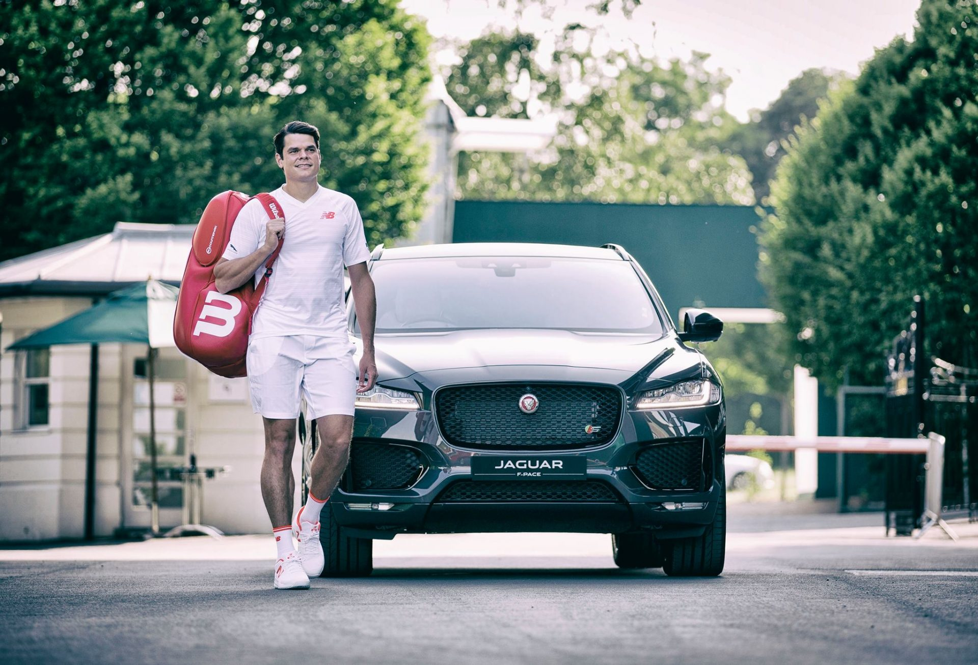 Milos Raonic Brand Ambassador Sponsor Partner Advertising Marketing Sponsorship Endorsements Jaguar