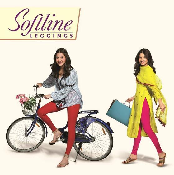 nushka Sharma Brand Endorsements Brand Ambassador Promotions TVC Advertisements List Rupa leggings