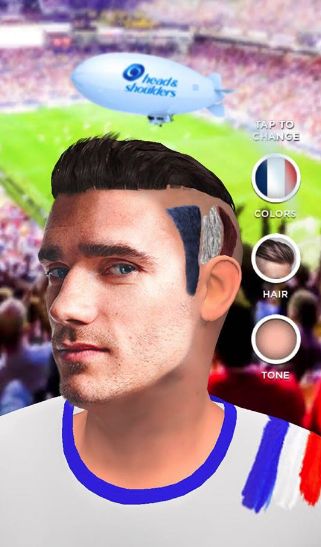 Antoine Griezmann Sponsors Brand Endorsements Brand Ambassador Personal Sponsorship deals list french footballer Head and Shoulders Shampoo conditioner