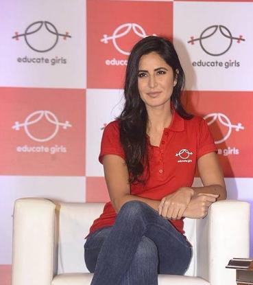 Katrina Kaif Brand Ambassador Brand Endorsements List Promotions TVC Advertisements Educate Girls