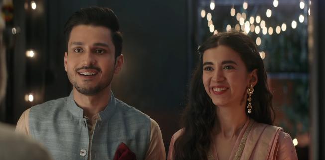 """""""Iss Diwali, kuch achha ho jaaye, kuch meetha ho jaaye."""" cadbury celebration actor actress girl boy"""