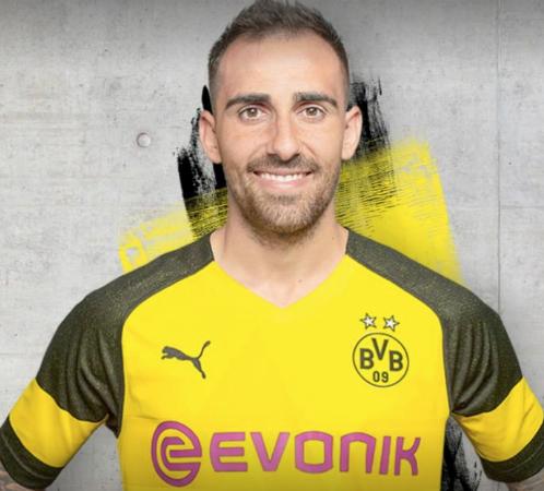 Shirt sponsors logo jersey brand most popular football clubs England Europe Spain Borussia Dortmund Evonik