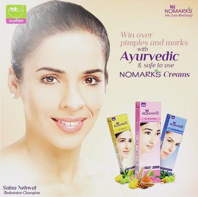 Saina Nehwal Brand Endorsements Advertising Brand Ambassador TVCs Associations Sponsors Bajaj Nomarks