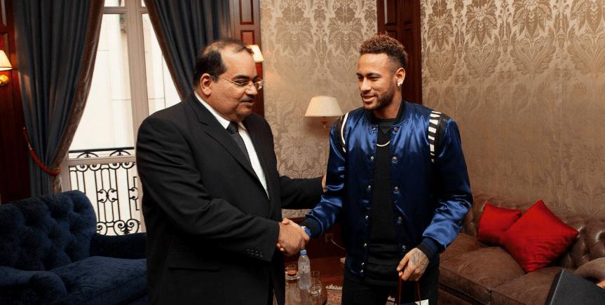 Neymar Junior Jr Brand Ambassador Partners Endorsements Lists Advertising associations sponsorships social media promotions TVC advertisements sponsors QNB