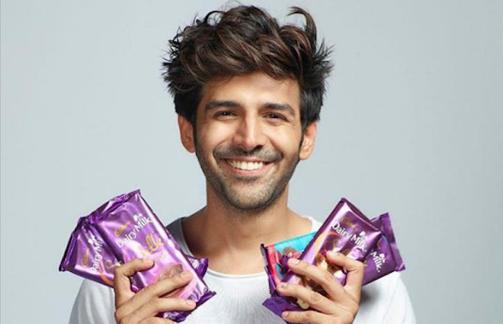 Kartik Aaryan Brand Associations/Brand Ambassador/Endorsement/Advertising/TVCs/Promotions list Cadbury